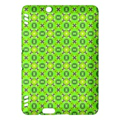 Vibrant Abstract Tropical Lime Foliage Lattice Kindle Fire Hdx Hardshell Case by DianeClancy