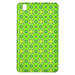 Vibrant Abstract Tropical Lime Foliage Lattice Samsung Galaxy Tab Pro 8 4 Hardshell Case by DianeClancy