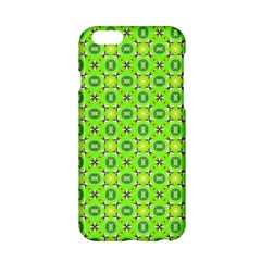 Vibrant Abstract Tropical Lime Foliage Lattice Apple Iphone 6/6s Hardshell Case by DianeClancy
