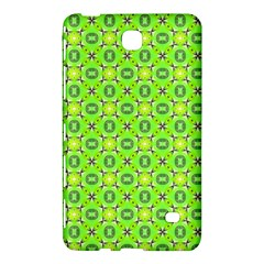 Vibrant Abstract Tropical Lime Foliage Lattice Samsung Galaxy Tab 4 (7 ) Hardshell Case  by DianeClancy