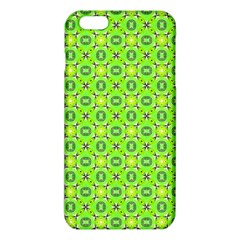 Vibrant Abstract Tropical Lime Foliage Lattice Iphone 6 Plus/6s Plus Tpu Case by DianeClancy
