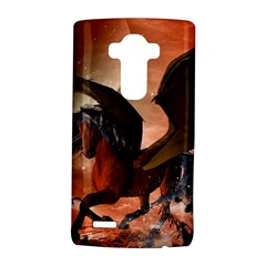 Wonderful Dark Unicorn In The Night Lg G4 Hardshell Case by FantasyWorld7