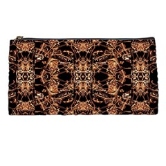 Dark Ornate Abstract  Pattern Pencil Cases by dflcprints