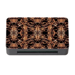 Dark Ornate Abstract  Pattern Memory Card Reader With Cf by dflcprints