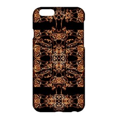 Dark Ornate Abstract  Pattern Apple Iphone 6 Plus/6s Plus Hardshell Case by dflcprints