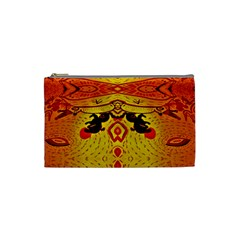 Green Sun Cosmetic Bag (small)  by MRTACPANS