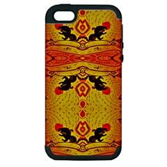 Green Sun Apple Iphone 5 Hardshell Case (pc+silicone)
