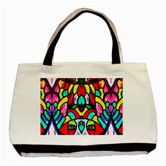 Sun Dial Basic Tote Bag (two Sides)