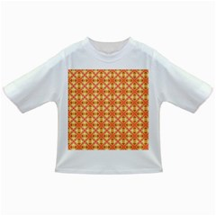 Peach Pineapple Abstract Circles Arches Infant/toddler T Shirts by DianeClancy