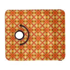 Peach Pineapple Abstract Circles Arches Samsung Galaxy S  Iii Flip 360 Case by DianeClancy