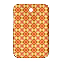Peach Pineapple Abstract Circles Arches Samsung Galaxy Note 8 0 N5100 Hardshell Case  by DianeClancy