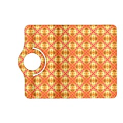 Peach Pineapple Abstract Circles Arches Kindle Fire Hd (2013) Flip 360 Case by DianeClancy