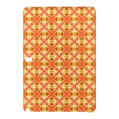 Peach Pineapple Abstract Circles Arches Samsung Galaxy Tab Pro 12.2 Hardshell Case by DianeClancy
