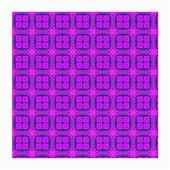 Abstract Dancing Diamonds Purple Violet Medium Glasses Cloth by DianeClancy