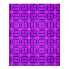 Abstract Dancing Diamonds Purple Violet Shower Curtain 60  X 72  (medium)  by DianeClancy