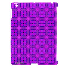 Abstract Dancing Diamonds Purple Violet Apple Ipad 3/4 Hardshell Case (compatible With Smart Cover) by DianeClancy