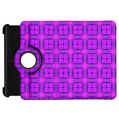 Abstract Dancing Diamonds Purple Violet Kindle Fire Hd Flip 360 Case by DianeClancy