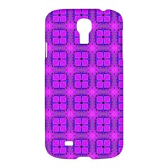 Abstract Dancing Diamonds Purple Violet Samsung Galaxy S4 I9500/i9505 Hardshell Case by DianeClancy