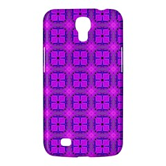 Abstract Dancing Diamonds Purple Violet Samsung Galaxy Mega 6 3  I9200 Hardshell Case by DianeClancy