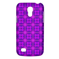 Abstract Dancing Diamonds Purple Violet Galaxy S4 Mini by DianeClancy