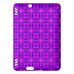 Abstract Dancing Diamonds Purple Violet Kindle Fire Hdx Hardshell Case by DianeClancy
