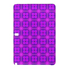 Abstract Dancing Diamonds Purple Violet Samsung Galaxy Tab Pro 10 1 Hardshell Case by DianeClancy