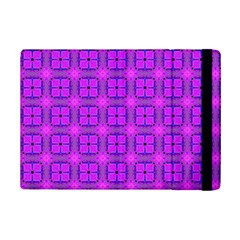 Abstract Dancing Diamonds Purple Violet Ipad Mini 2 Flip Cases by DianeClancy