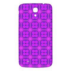 Abstract Dancing Diamonds Purple Violet Samsung Galaxy Mega I9200 Hardshell Back Case by DianeClancy