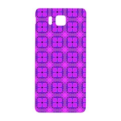 Abstract Dancing Diamonds Purple Violet Samsung Galaxy Alpha Hardshell Back Case by DianeClancy