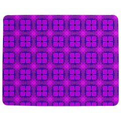 Abstract Dancing Diamonds Purple Violet Jigsaw Puzzle Photo Stand (rectangular) by DianeClancy