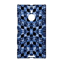Indigo Check Ornate Print Nokia Lumia 1520 by dflcprints