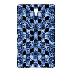 Indigo Check Ornate Print Samsung Galaxy Tab S (8 4 ) Hardshell Case  by dflcprints