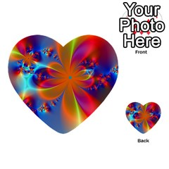 Bright Multi Purpose Cards (heart)  by Delasel