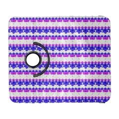 Floral Stripes Pattern Samsung Galaxy S  Iii Flip 360 Case by dflcprints