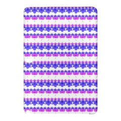 Floral Stripes Pattern Samsung Galaxy Tab Pro 10 1 Hardshell Case by dflcprints