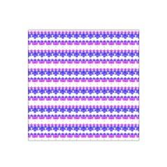 Floral Stripes Pattern Satin Bandana Scarf by dflcprints