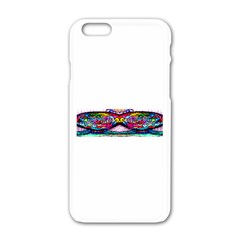 Bestiiik Apple Iphone 6/6s White Enamel Case