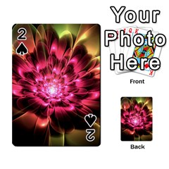 Red Peony Playing Cards 54 Designs