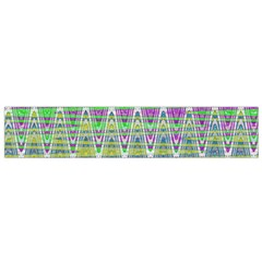 Colorful Zigzag Pattern Flano Scarf (small) by BrightVibesDesign
