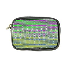 Colorful Zigzag Pattern Coin Purse by BrightVibesDesign