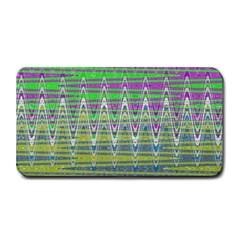 Colorful Zigzag Pattern Medium Bar Mats by BrightVibesDesign