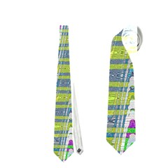Colorful Zigzag Pattern Neckties (two Side)