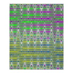 Colorful Zigzag Pattern Shower Curtain 60  X 72  (medium)  by BrightVibesDesign