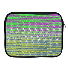 Colorful Zigzag Pattern Apple Ipad 2/3/4 Zipper Cases by BrightVibesDesign