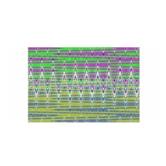 Colorful Zigzag Pattern Satin Wrap by BrightVibesDesign