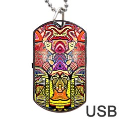 Last Of Dog Tag Usb Flash (two Sides)