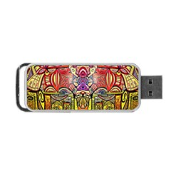 Last Of Portable Usb Flash (one Side)