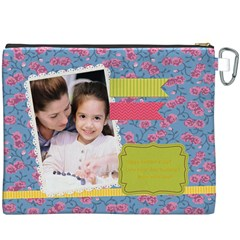 Mothers Day By Mom   Canvas Cosmetic Bag (xxxl)   Lfqryk1crtqd   Www Artscow Com Back