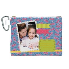 Mothers Day By Mom   Canvas Cosmetic Bag (xl)   B9yvd5so3gp8   Www Artscow Com Front