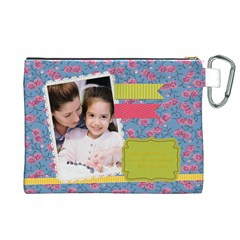 Mothers Day By Mom   Canvas Cosmetic Bag (xl)   B9yvd5so3gp8   Www Artscow Com Back